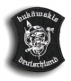 """Aufnäher """"buköwskis deutschland"""" klein"""