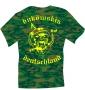 """T-Shirt """"buköwskis deutschland"""" Camouflage"""