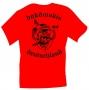 "T-Shirt ""buköwskis deutschland"" ROT"